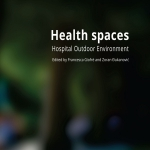 Health space. Hospital outdoor environment