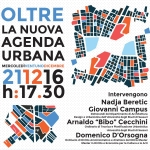 Oltre la Nuova Agenda Urbana / Over the New Urban Agenda